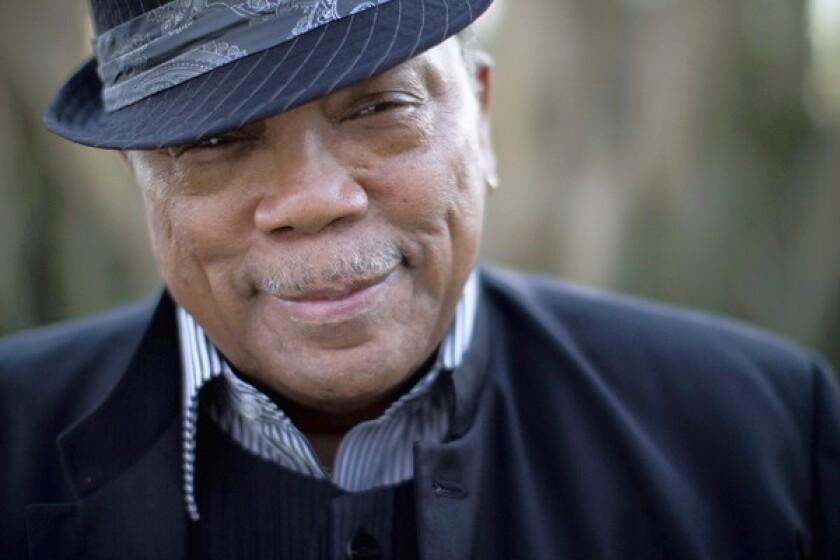 Quincy Jones in Bel Air on Nov. 24, 2010.