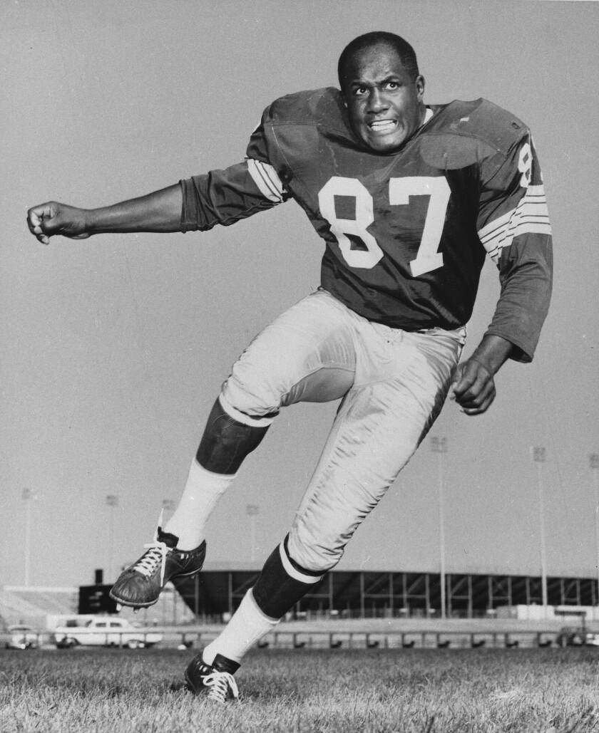 Willie Davis in 1963.