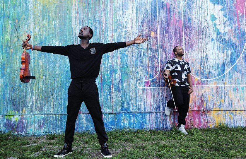 Black Violin performs Friday at the Jacobs Center for Neighborhood Innovation.