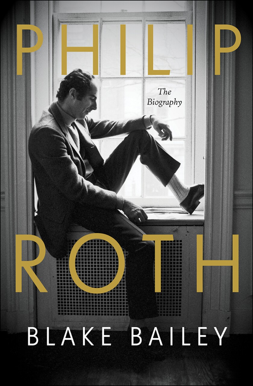 """Cover of the book """"Philip Roth: The Biography,"""" by Blake Bailey"""
