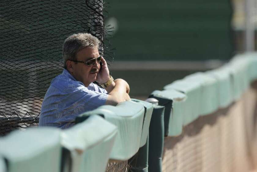 For your consideration: Dodgers' Ned Colletti, executive of the year