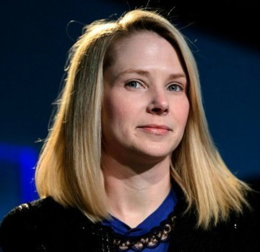 Female students and educators say engineering and computer science would connect better with girls if it more fully highlighted the accomplishments of such people as Yahoo! CEO Marissa Mayer.