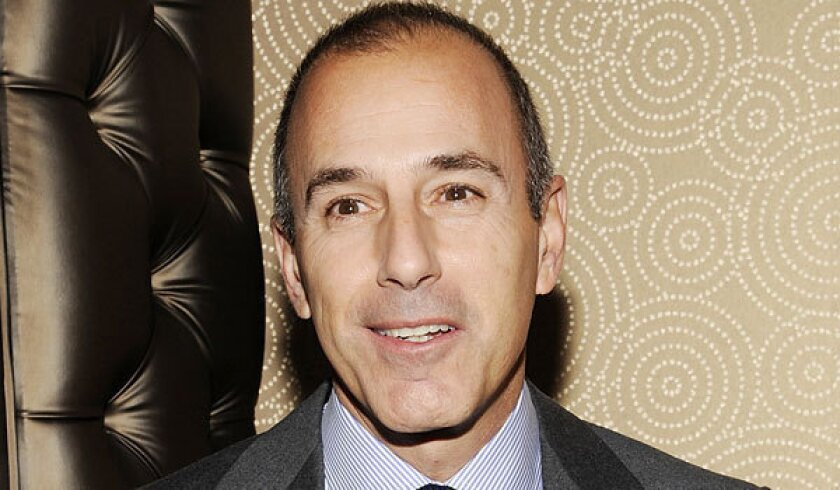 Matt Lauer jokes that he's less popular than polio