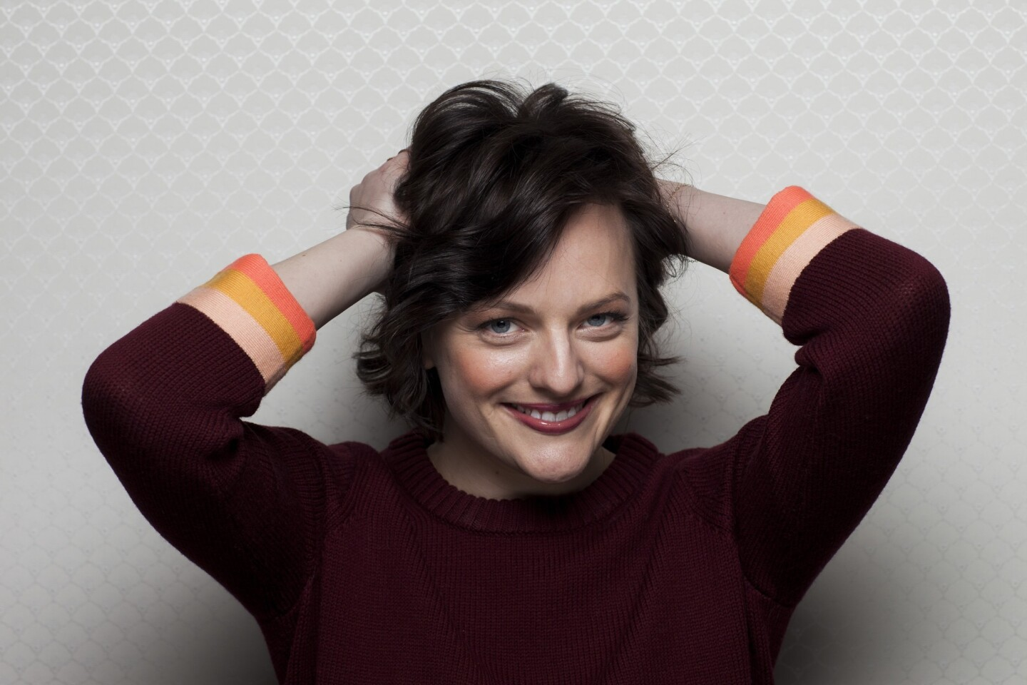 """Actress Elisabeth Moss, with the film """"The One I Love."""""""