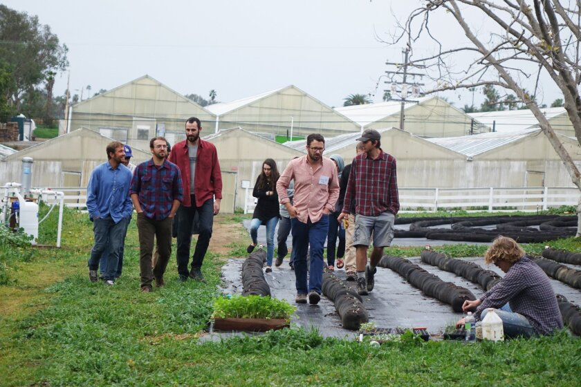 Leading Jewish Community Farmers recently gathered at the Leichtag Foundation's 67-acre property to share challenges and opportunities for growth.