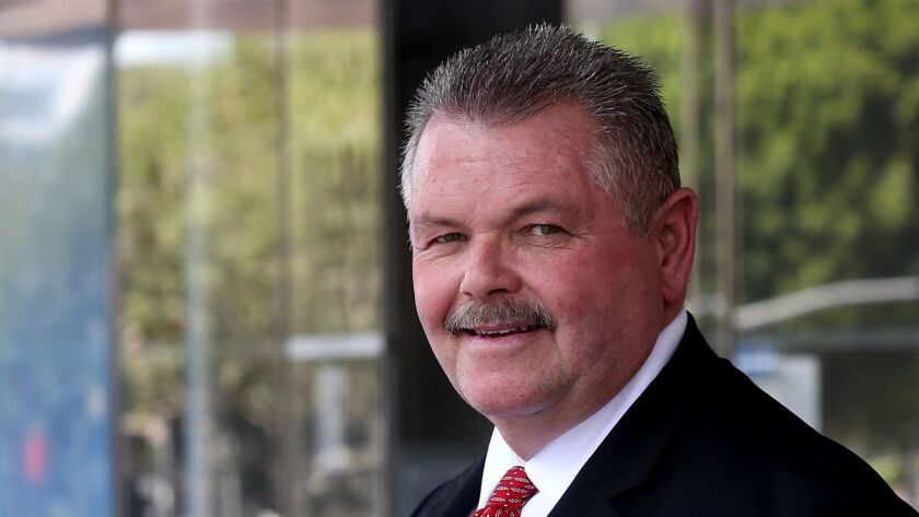 Bob Lindsey, a retired Los Angeles County Sheriff's Department commander, is running for sheriff in next year's election.