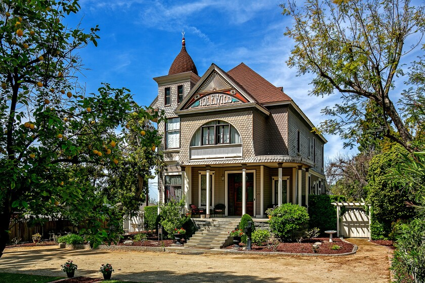 The Idlewild House in Monrovia is an example of Queen Anne Victorian architecture from the late 1800s.
