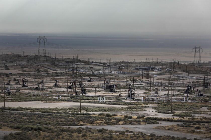 Cymric oil field