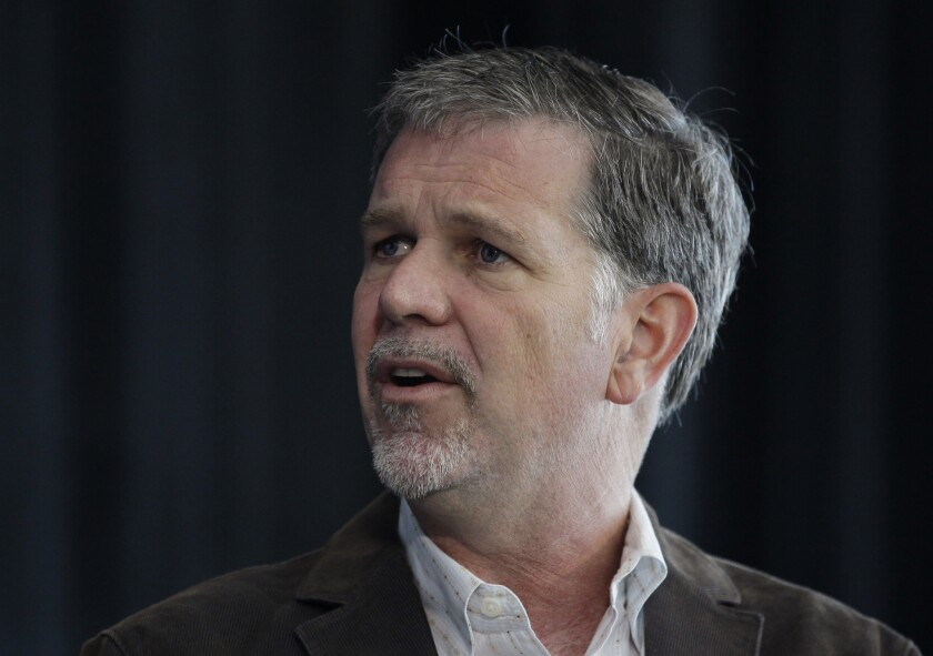 Reed Hastings received $11.1 million in 2014