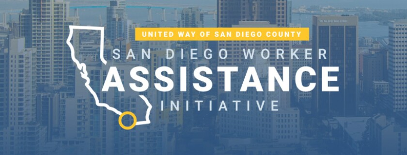 United Way of San Diego County is implementing a Worker Assistance Initiative to aid some workers who need help paying utilities and rent/mortgage bills during the coronavirus crisis.