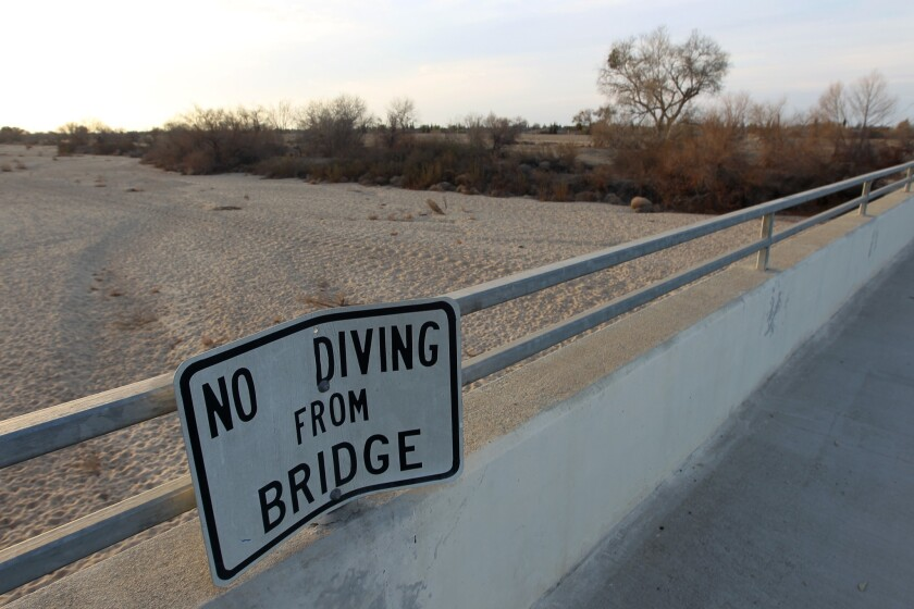California drought: House Republicans take aim at water rules