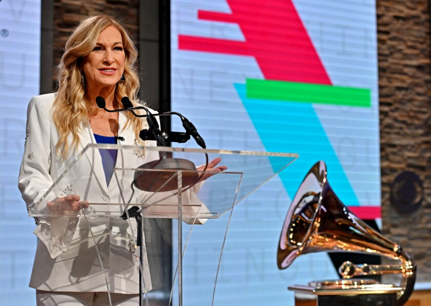 Ousted Recording Academy president and CEO Deborah Dugan
