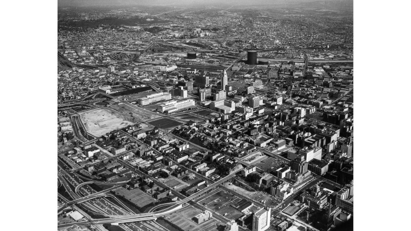 From the Archives: A 1962 aerial photograph shows a growing ...