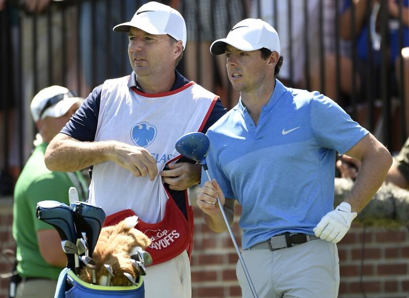 Rory McIlroy, J. P. Fitzgerald, Barclays Golf