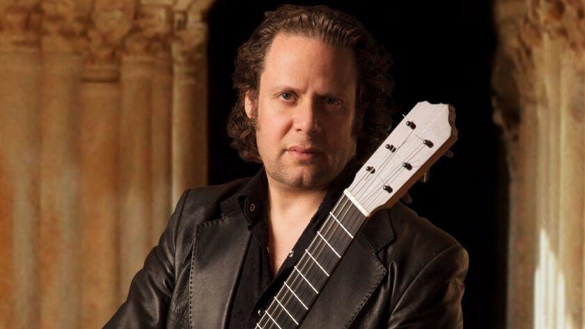 Guitarist Adam Del Monte performs with his trio tonight at Tango Del Rey in Pacific Beach.