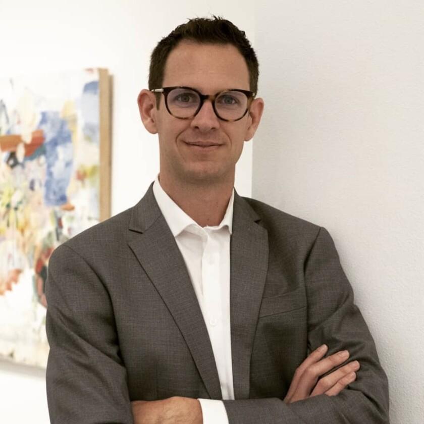 Andrew Utt, executive director of Lux Art Institute in Encinitas