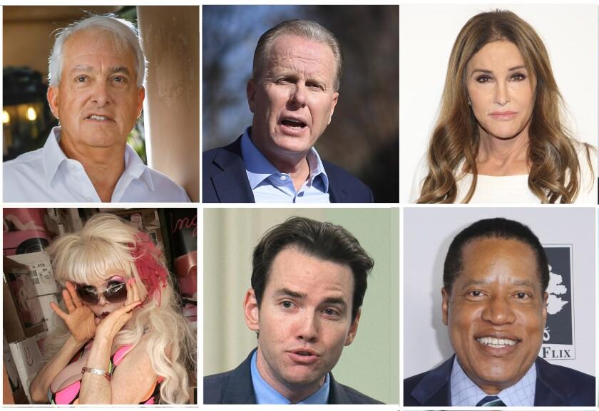 California recall candidates
