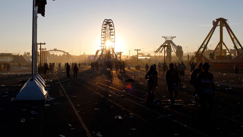 Sunrise Sunday at the Las Vegas Motor Speedway.