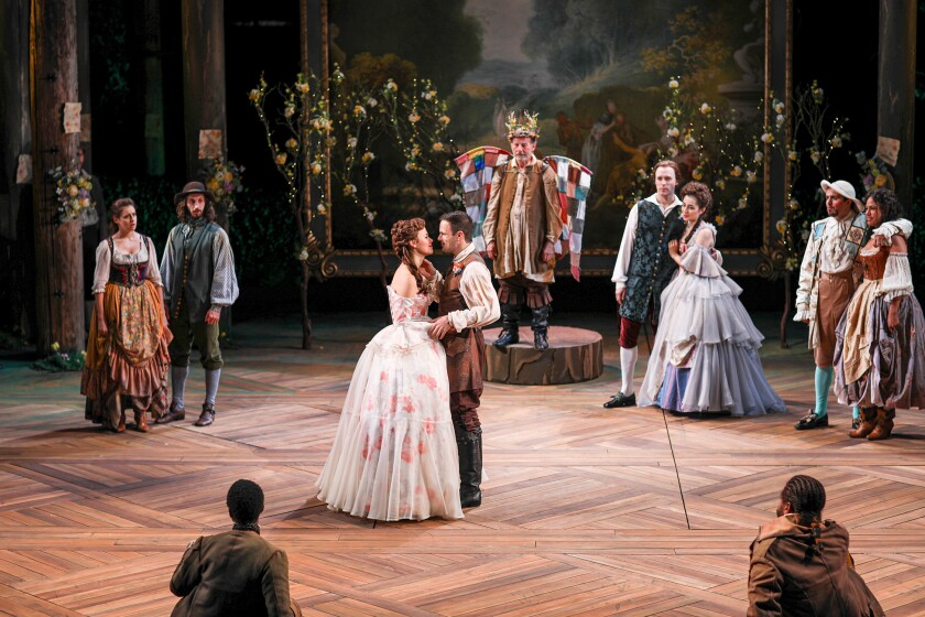 'As You Like It' zips along with elegance and wit in Old Globe's Shakespeare Festival opener