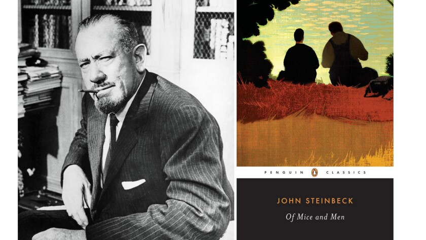 "John Steinbeck's novel ""Of Mice and Men"" has survived a censorship challenge in Idaho."