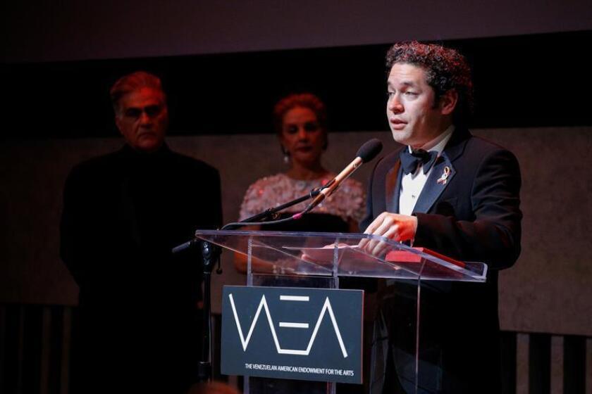 El director de orquesta venezolano Gustavo Dudamel. EFE/Archivo