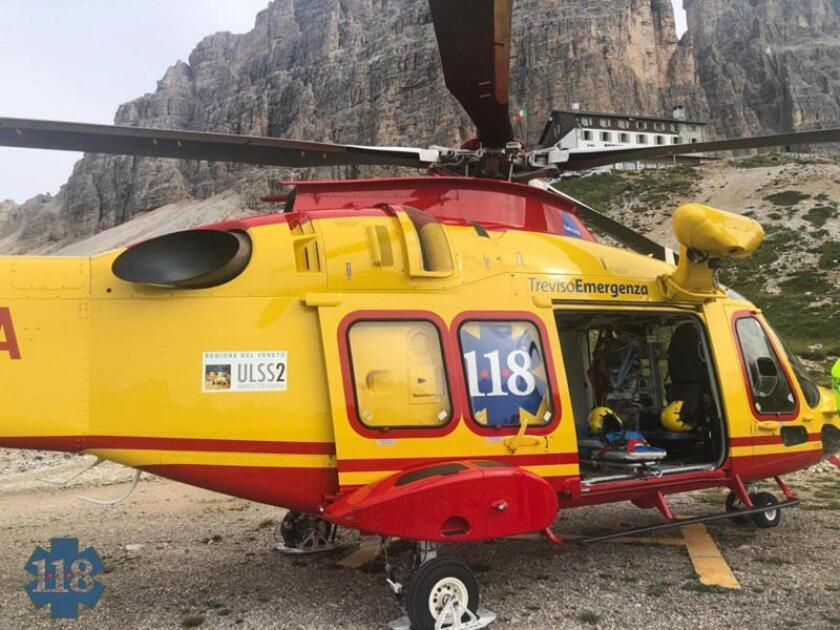 Dos montañeros españoles, rescatados tras 3 días atrapados en los Dolomitas