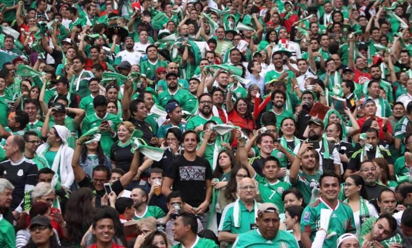 Muchos aficionados mexicanos están en la mira por lo que gritan en el estadio durante el Mundial.