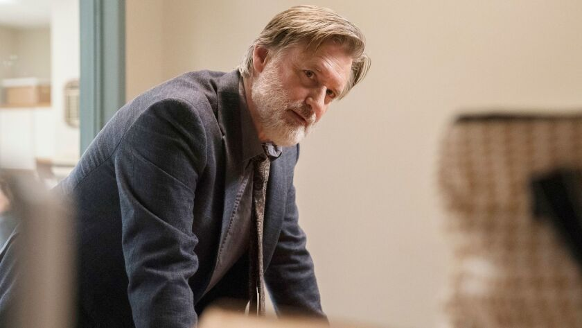 "Bill Pullman plays a detective for whom the ""why"" matters more than the ""who"" in USA's ""The Sinner."""