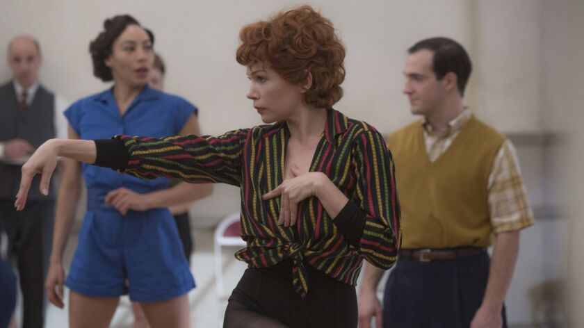"Michelle Williams as Gwen Verdon in ""Fosse/Verdon."""