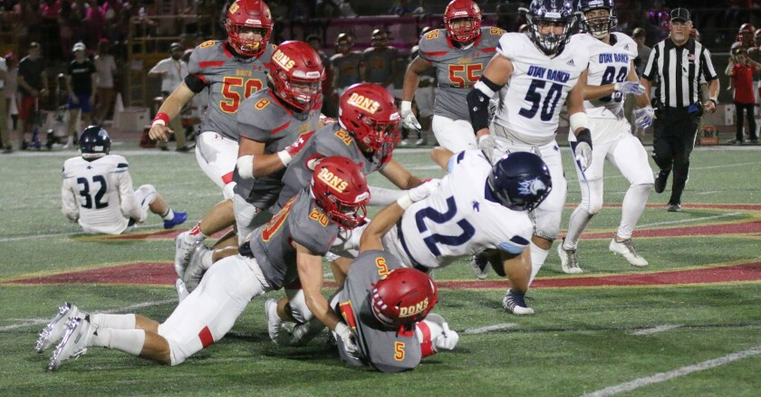 The Cathedral Catholic defense was dominating in Friday's victory over Otay Ranch.