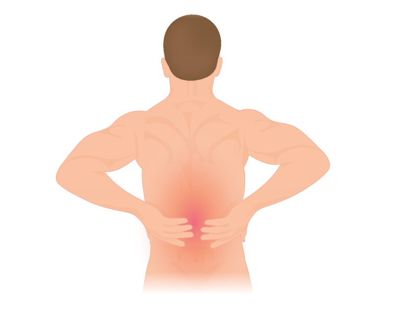Back pain is a common ailment.