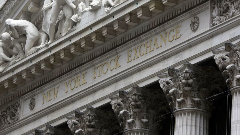 The U.S. dollar is the strongest it has been in more than a year, which could eventually create problems for U.S. companies that make a lot of sales overseas. Above, the facade of the New York Stock Exchange.