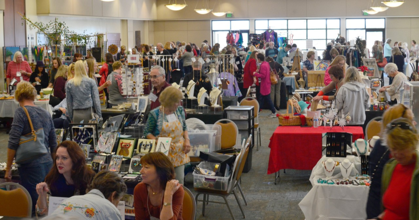 The SDAG Holiday Bazaar Dec. 14 will feature a variety of art.