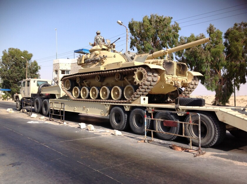 Israel approves more Egyptian troops in Sinai