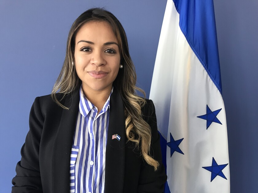 María Fernanda Rivera, cónsul general de Honduras
