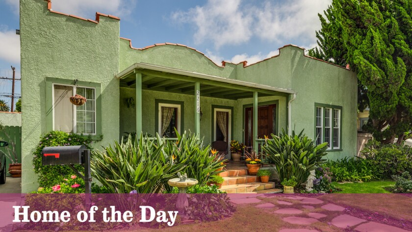 Home of the Day: Spanish bungalow in Venice