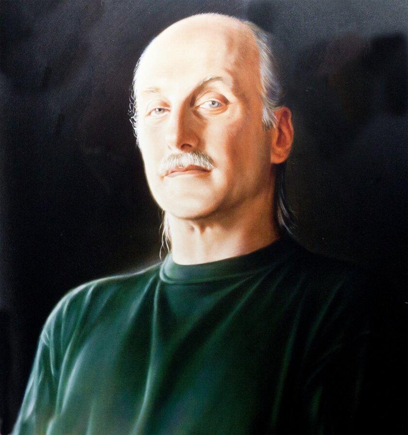 Dennis Paul Batt (1952-2012), from a 2007 painting by Jen Trute  Photos by Maurice Hewitt