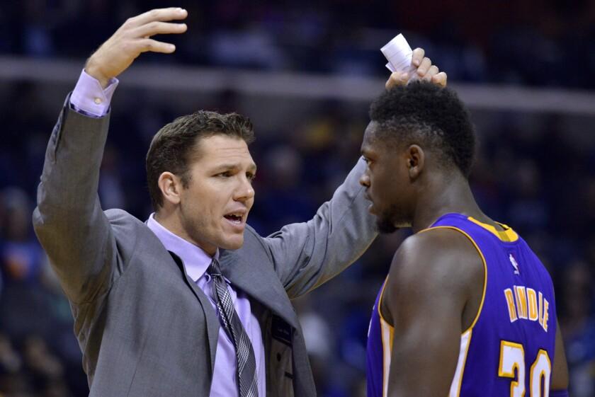 En Memphis empezó todo para el entrenador de los Lakers, Luke Walton.