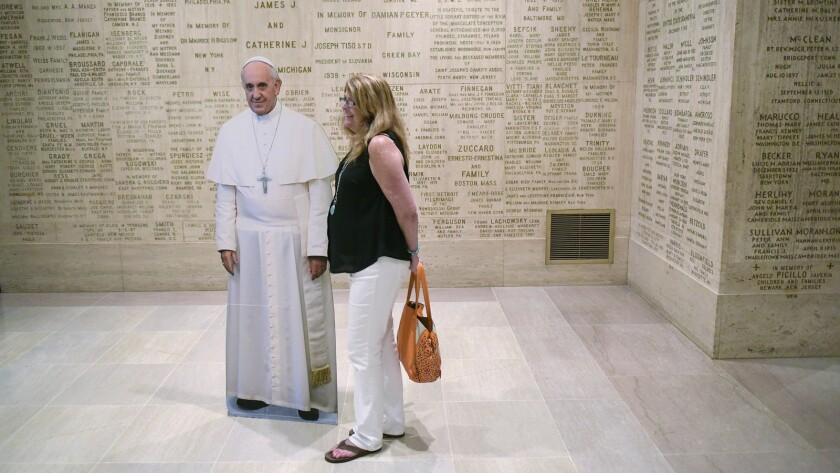 US-VATICAN-RELIGION-SHRINE-POPE