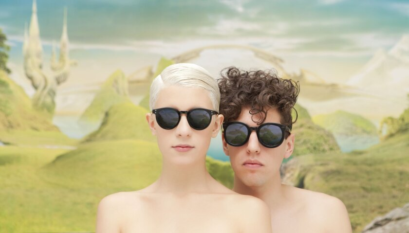 The electro-pop duo Yacht will kick off the free SOUNDCHECK concert series at Hard Rock Hotel San Diego on Oct. 18. Photo by Alin Dragulin.