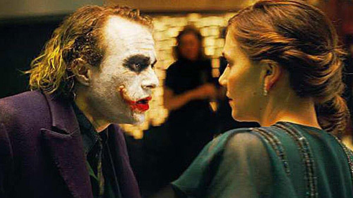 Heath Ledger In Dark Knight Bravo Los Angeles Times