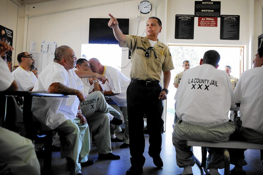 How the L A  County jail's version of democracy has changed life for