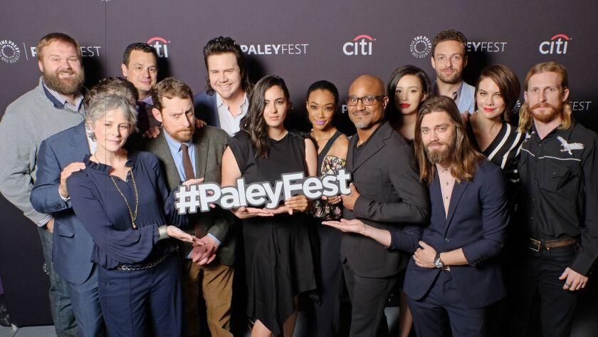 'Walking Dead' cast at Paleyfest
