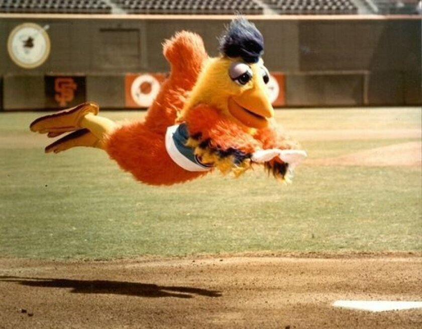 Ted Giannoulas aka the San Diego Chicken