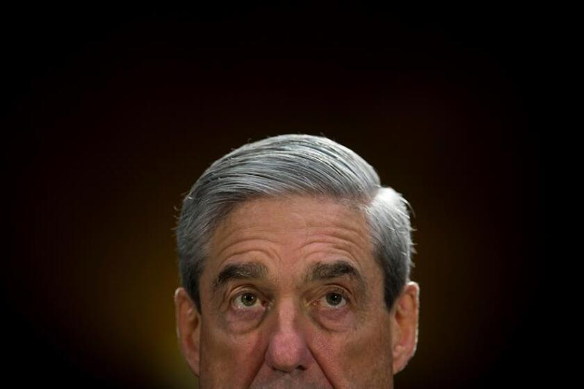 Fotografía del fiscal especial estadounidense Robert Mueller. EFE/Archivo