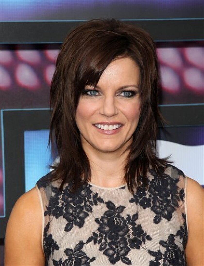 FILE - In this June 9, 2010 file photo, country singer Martina McBride attends the 2010 CMT Music Awards, in Nashville, Tenn. (AP Photo/Peter Kramer, file)