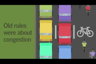 How bike lanes in California are decided