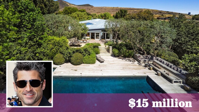 """The """"Grey's Anatomy"""" star sold the Frank Gehry-designed compound in Malibu for $15 million -- $500,000 over the asking price."""