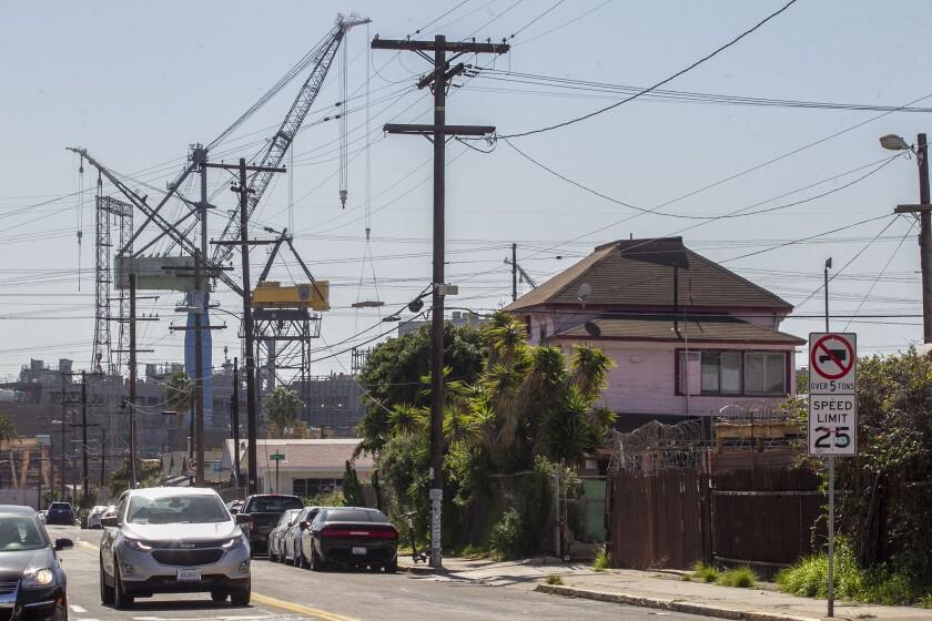 Barrio Logan photographed on Wednesday, February 12, 2020.