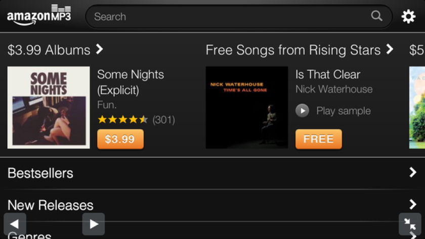 Amazon launches MP3 store for iPhone, doesn't owe Apple a
